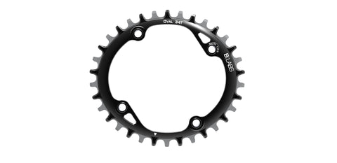 B-Labs Oval Chainring 104BCD