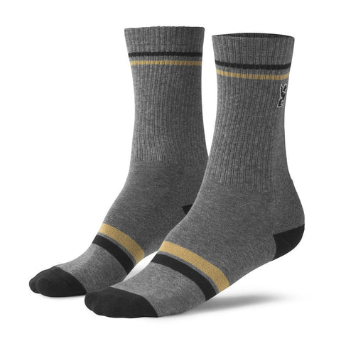 Chrome Sutro Crew Grey/Black Socks