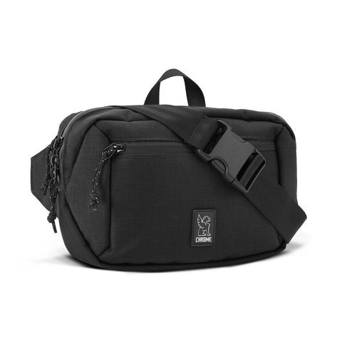 Chrome Ziptop Hip Bag / Sling