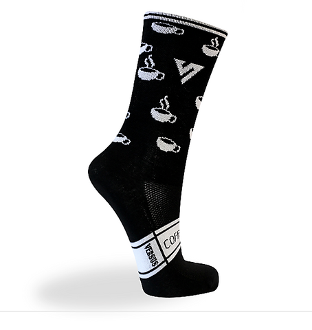 Versus Premium Race Coffee Socks 6""