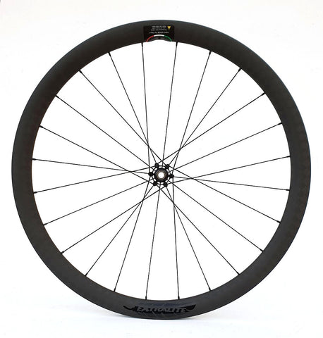 Extralite CyberDisc 38C 700c Carbon wheelset with HDC Ceramic