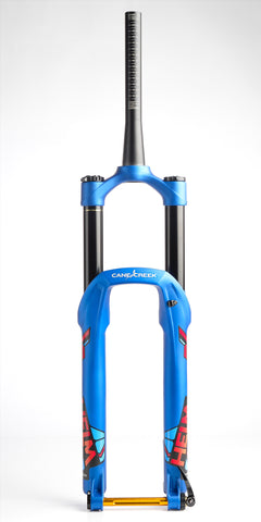 Cane Creek Helm 27.5 Boost Fork 140mm-170mm Blue