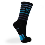 Versus Premium Trail Blue Stripe Socks 6""