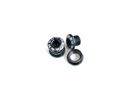 Chainring Bolts M8 x 5.5mm MTB 4 units - short