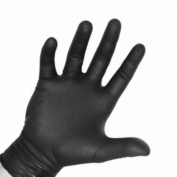 Proval Black Nitrile Workshop Quality gloves Black
