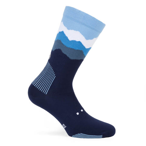 Pacific and Co Socks - Les Alps Blue