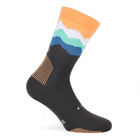 Pacific and Co Socks - Les Alps Grey