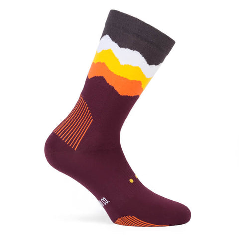 Pacific and Co Socks - Les Alps Violet