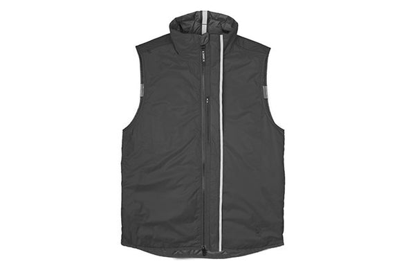 CHROME WARM VEST Black