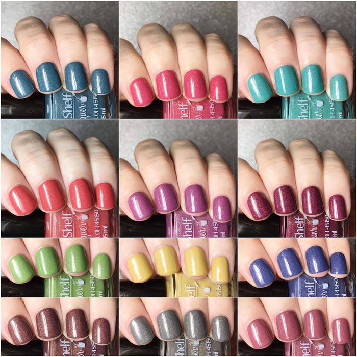 Drunken Creme Fall Holos Collection, September 2017 (12 Bottles)