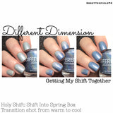 Holy Shift: Shift Into Spring, Thermal Box Collab Pre-Order (4 bottles; Thermal polishes color-shift only guaranteed through 10/15/17)