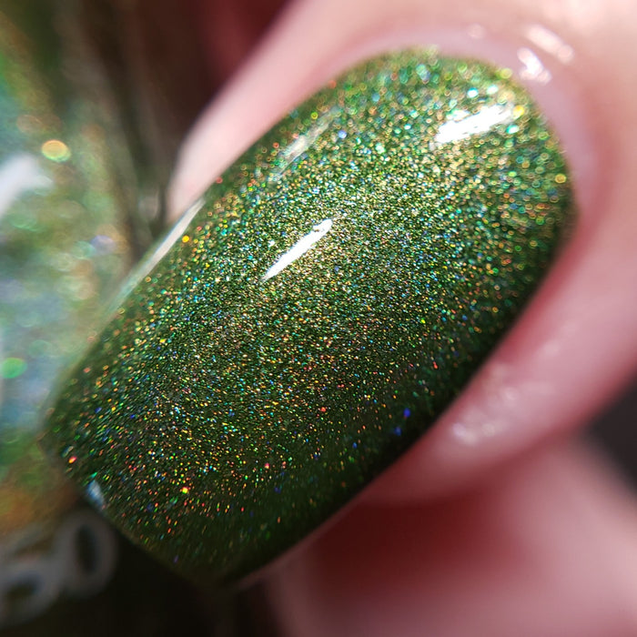 Booze-ing with excitement - (1 bottle) Fall Holo Fun, August 2019