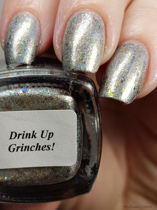 Drink Up Grinches!, December 2017 (1 Bottle)