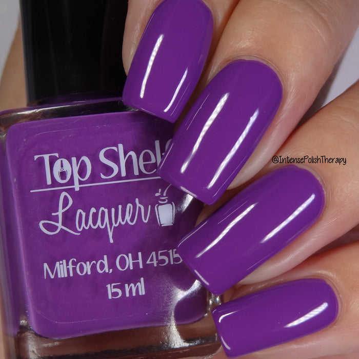 Top Shelf Violet Creme, May 2019 (1 bottle)