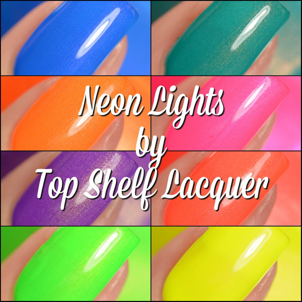 Neon Lights Collection 2017, Set of 8 bottles