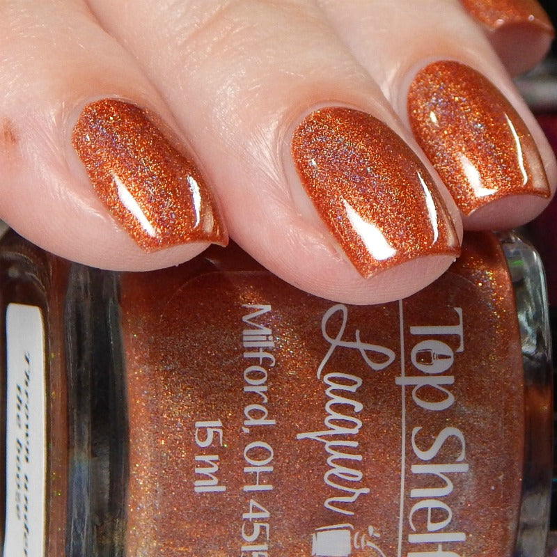 Thrown under the booze - (1 bottle) Fall Holo Fun, August 2019