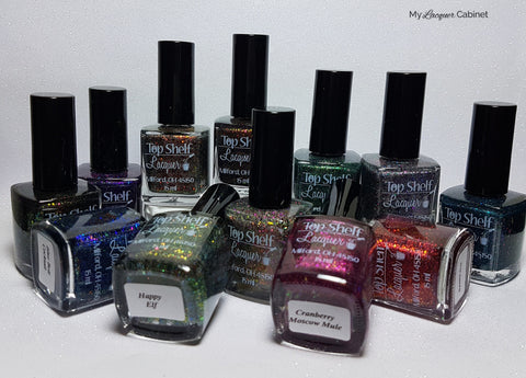 Holiday Flake Out Collection (Set of 12 bottles), Nov 2016 - Top Shelf Lacquer - 1