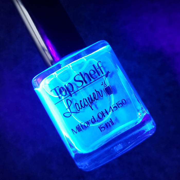 You Glow Girl! UV Reactive Top Coat (1 bottle)