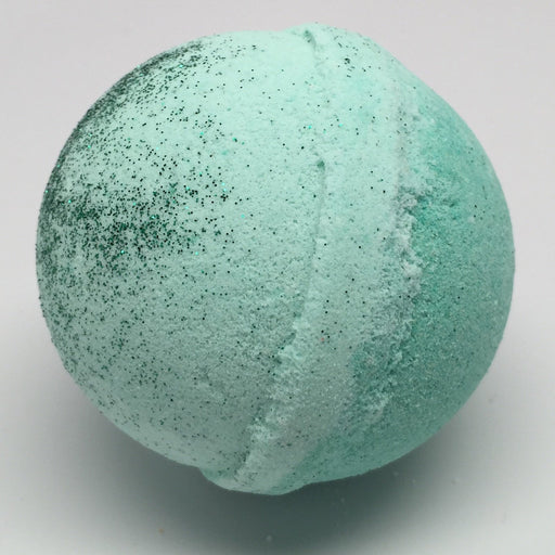 Bergamot Lime Fizzy Bath Bomb (1 bomb) - Top Shelf Lacquer