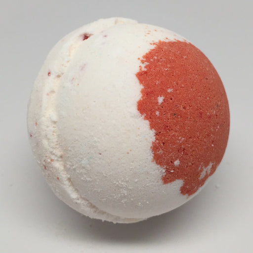 Cherry Almond Fizzy Bath Bomb (1 bomb) - Top Shelf Lacquer