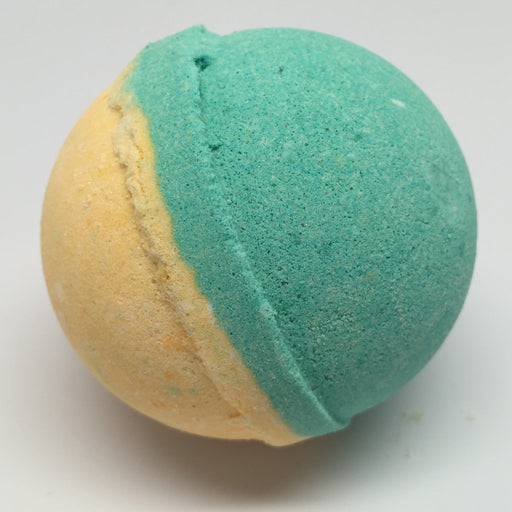 Grapefruit Tangerine Fizzy Bath Bomb (1 bomb) - Top Shelf Lacquer