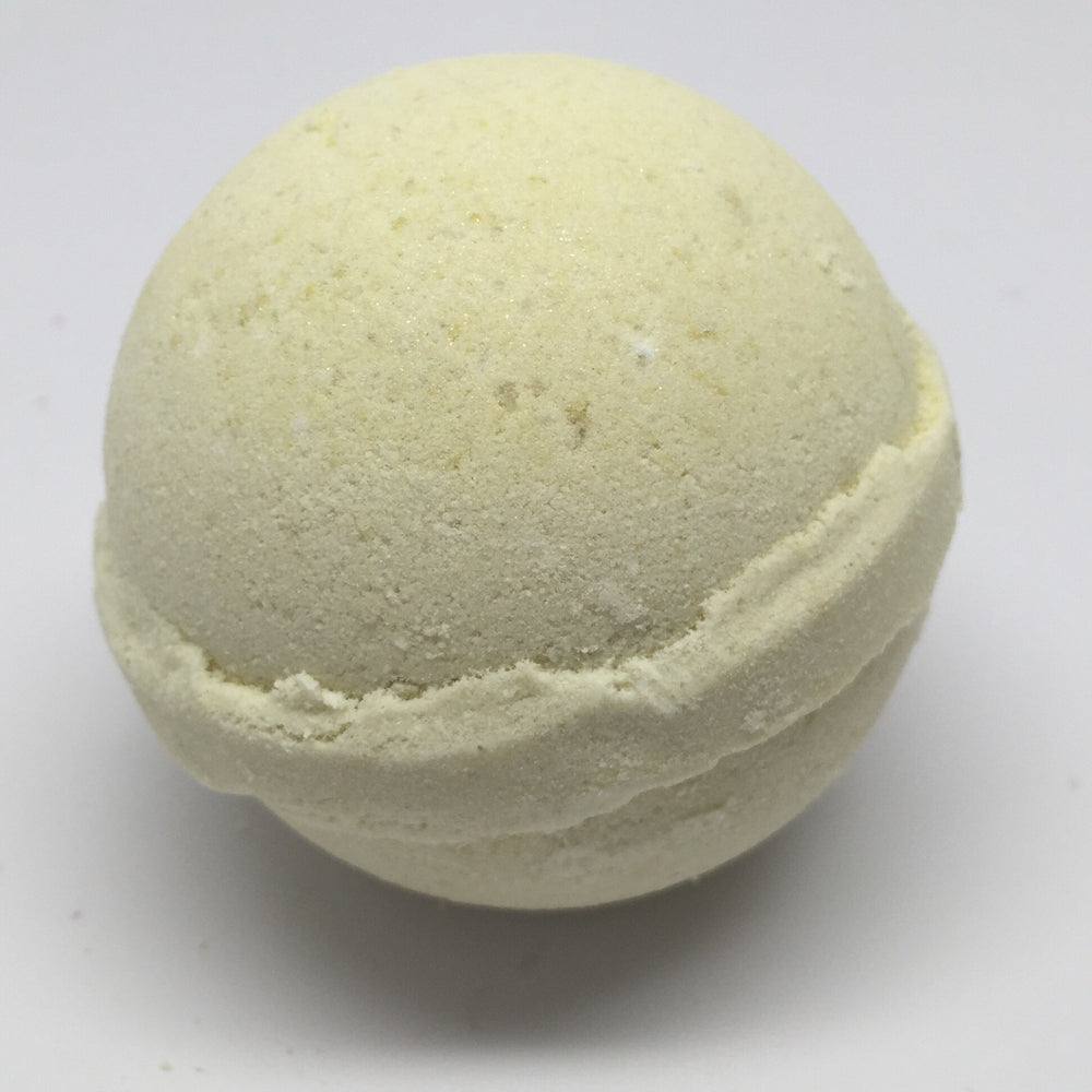 Sandalwood Fizzy Bath Bomb (1 bomb) - Top Shelf Lacquer