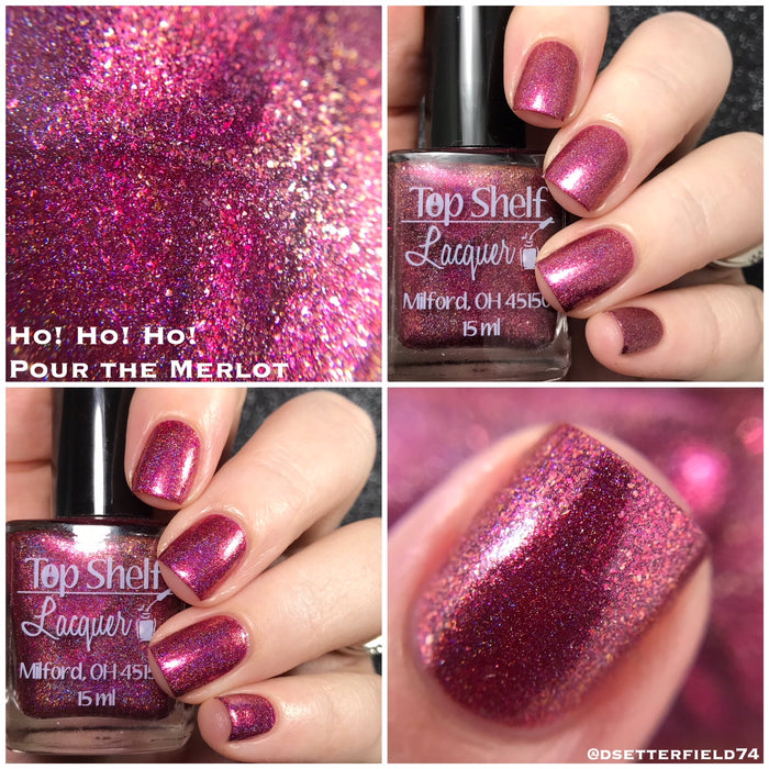 Because no great story ever started with salad January 2017 (1 Bottle) - Top Shelf Lacquer - 5
