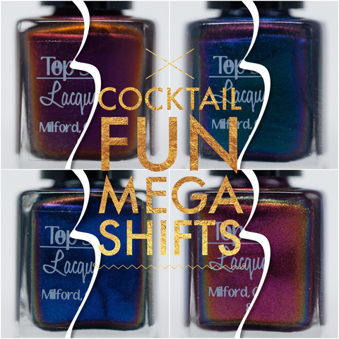 Cocktail Fun - Mega Shifts - Collection, April 2017 (4 bottles)