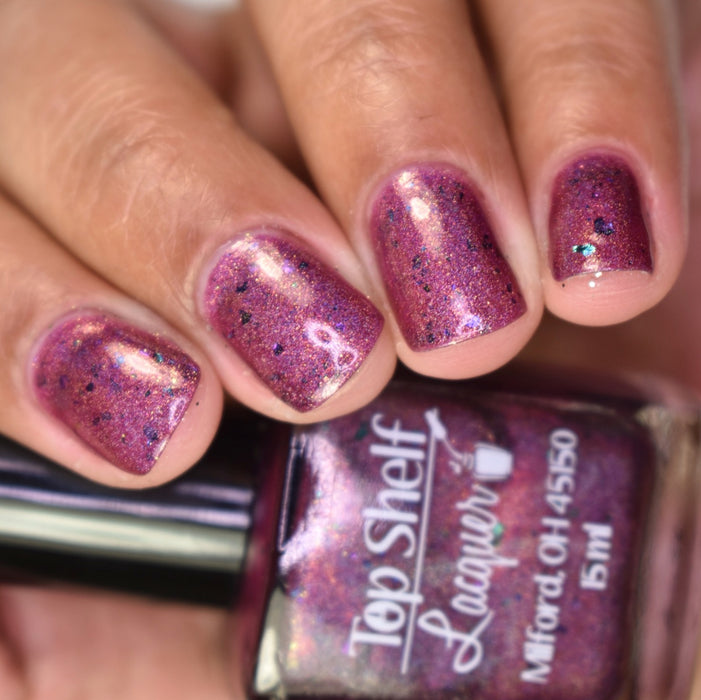 Sippity doo dah, Sippity Yay! January 2017 (1 Bottle) - Top Shelf Lacquer - 4