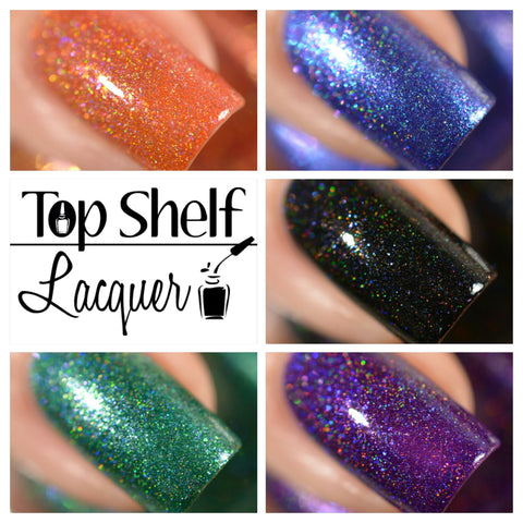 Liquor Treat Collection September 2016 (5 bottles) - Top Shelf Lacquer - 1
