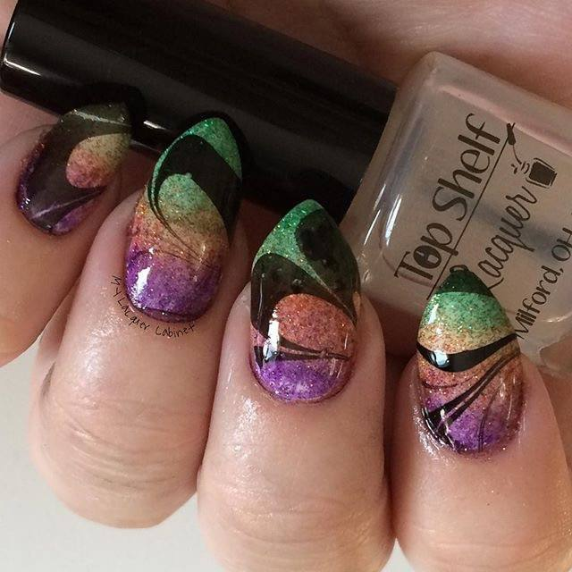 Bar Mix - Clear Watermarble (1 bottle) - Top Shelf Lacquer - 1