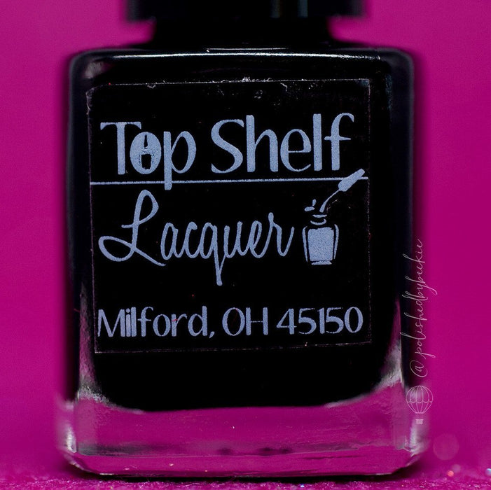 Black Russian, Basic Black Creme (1 bottle) - Top Shelf Lacquer - 2