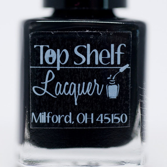 Black Russian, Basic Black Creme (1 bottle) - Top Shelf Lacquer - 3