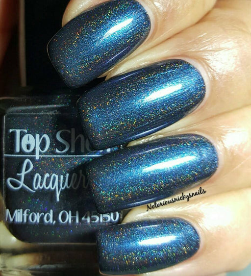 Blueberry Cream Ale, Harvest Brews Collection October 2015 (1 bottle) - Top Shelf Lacquer - 2