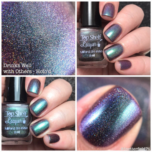 Nail Polish - Drinks Well With Others - Holo'd, April 2017 (1 Bottle)
