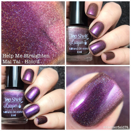 Duochrome & Multichrome Color Shifting Polishes — Top Shelf Lacquer