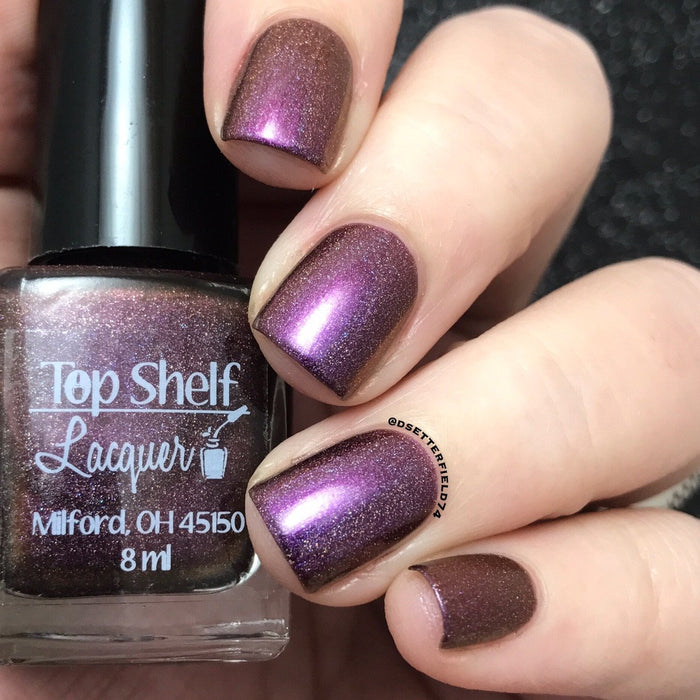 Nail Polish - Help Me Straighten Mai Tai - Holo'd, April 2017 (1 Bottle)
