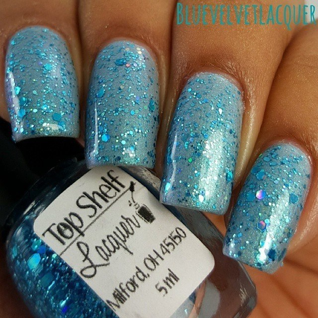 Horizon Blue Skies, May 2015 (1 bottle) - Top Shelf Lacquer - 2