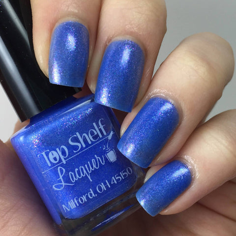 Ocean Breeze, February 2016 (1 bottle) - Top Shelf Lacquer - 1