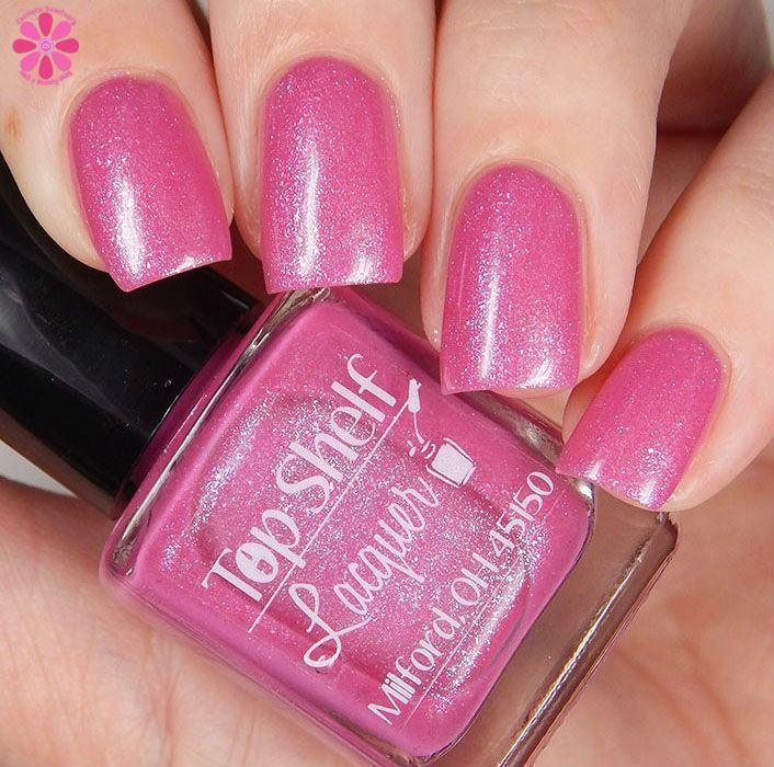 Pink Bikini, February 2016 (1 bottle) - Top Shelf Lacquer - 10