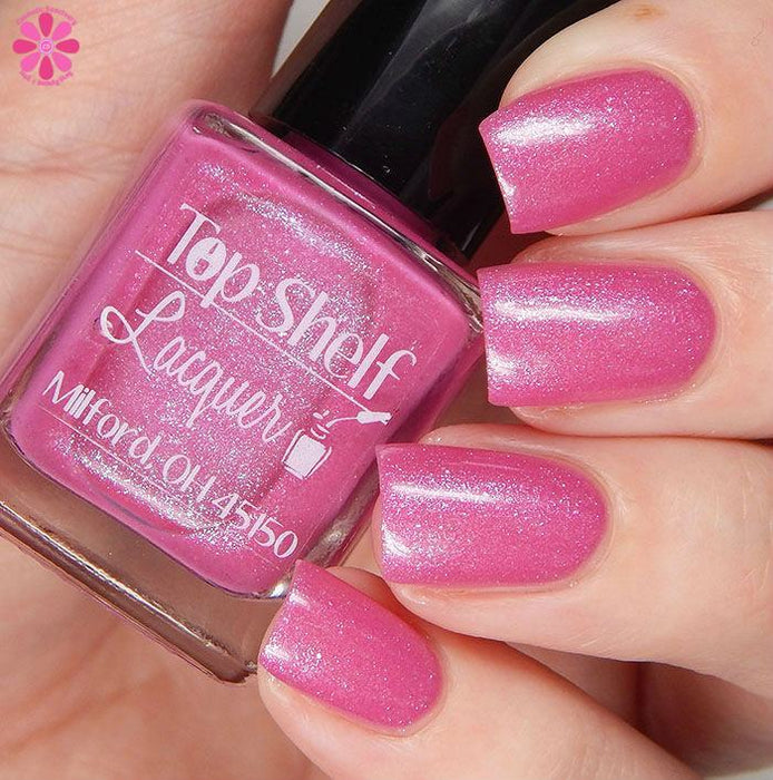 Pink Bikini, February 2016 (1 bottle) - Top Shelf Lacquer - 11