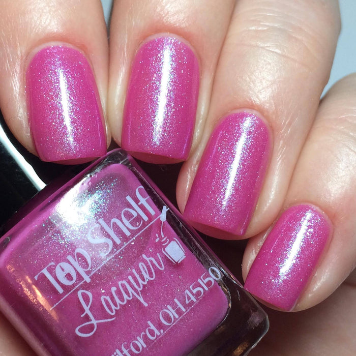 Pink Bikini, February 2016 (1 bottle) - Top Shelf Lacquer - 2