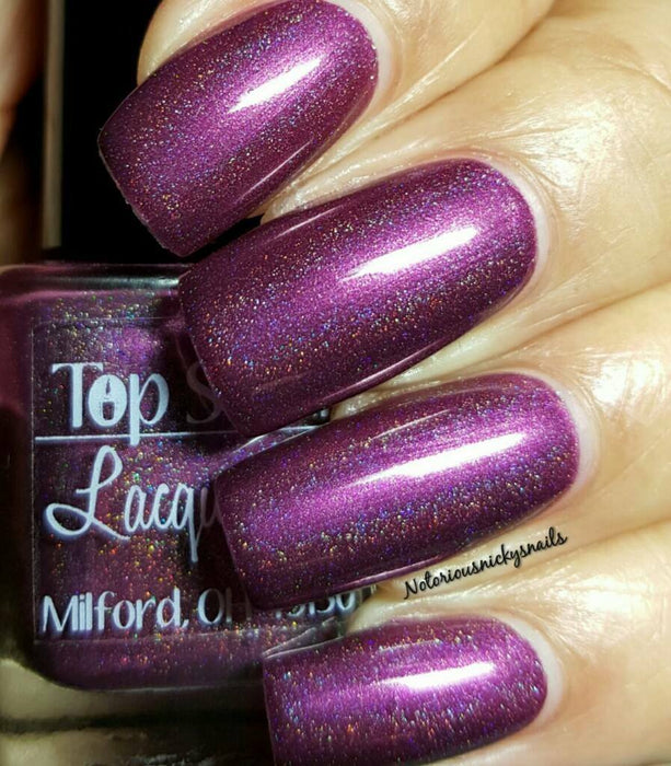 Raspberry Lager, Harvest Brews Collection October 2015 (1 bottle) - Top Shelf Lacquer - 2