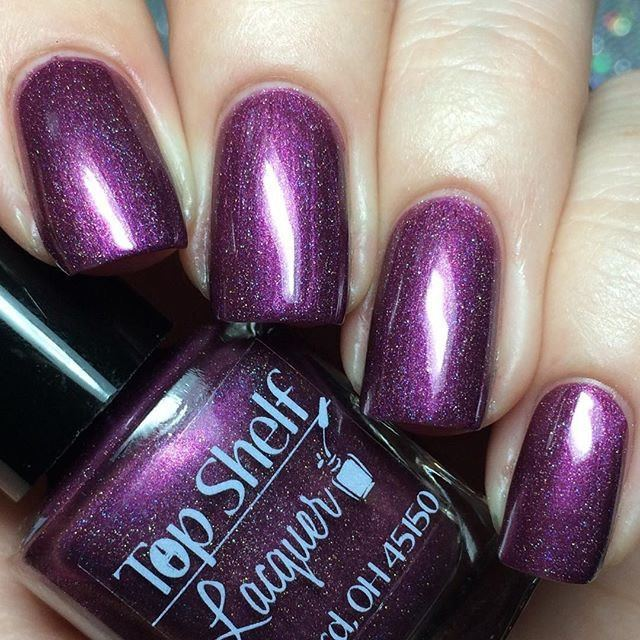 Raspberry Lager, Harvest Brews Collection October 2015 (1 bottle) - Top Shelf Lacquer - 5