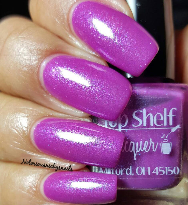 Rum Runner, February 2016 (1 bottle) - Top Shelf Lacquer - 10