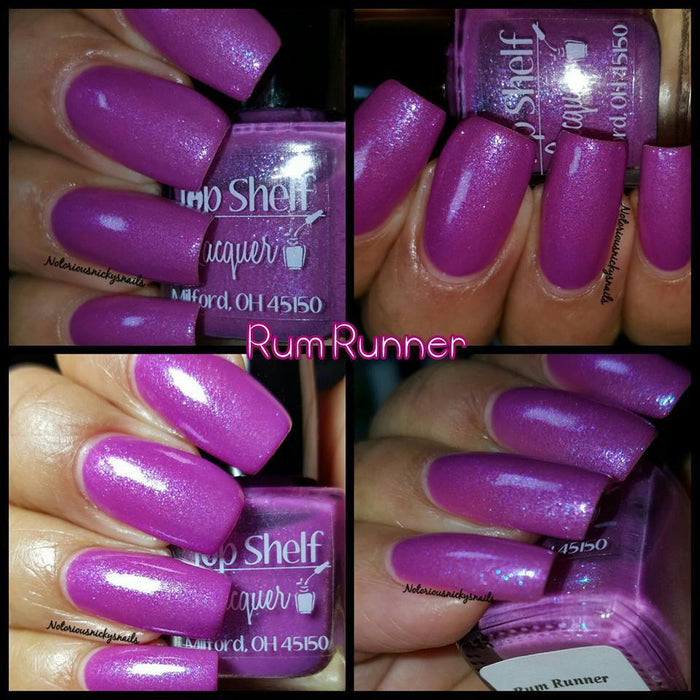 Rum Runner, February 2016 (1 bottle) - Top Shelf Lacquer - 8