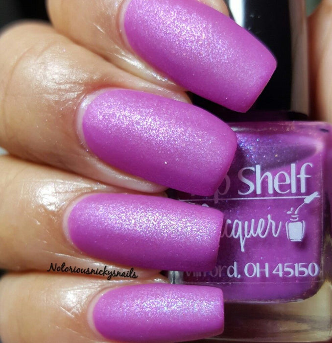 Rum Runner, February 2016 (1 bottle) - Top Shelf Lacquer - 9
