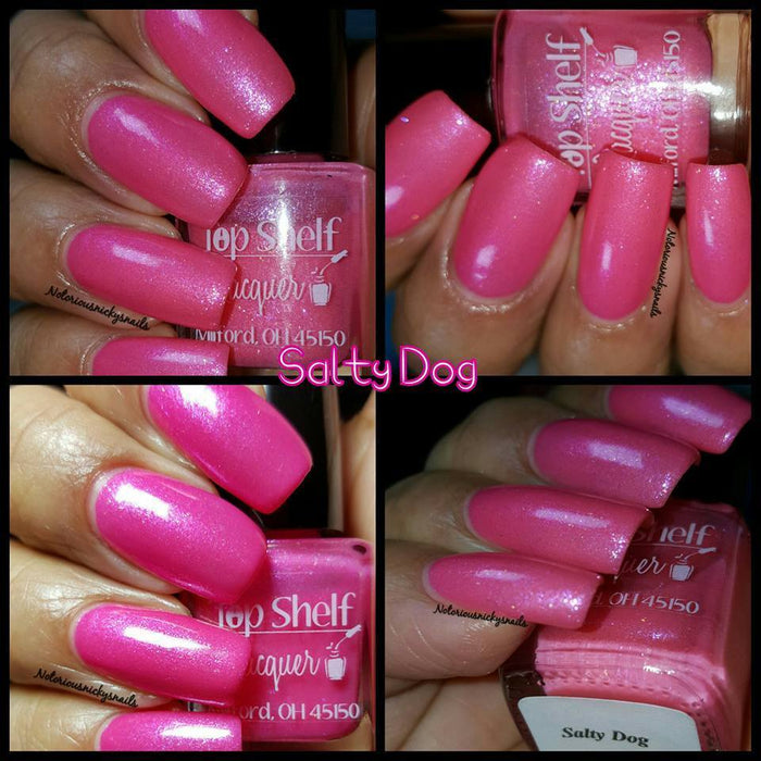 Salty Dog, February 2016 (1 bottle) - Top Shelf Lacquer - 10
