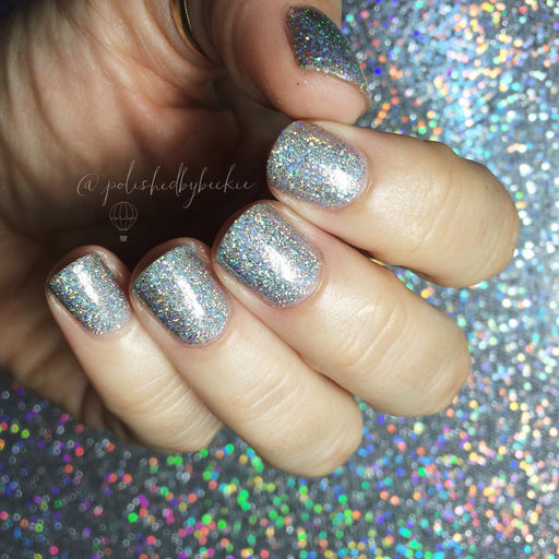 Tinsel Bellini, Holiday Night Caps Collection, November 2015 (1 bottle) - Top Shelf Lacquer - 4