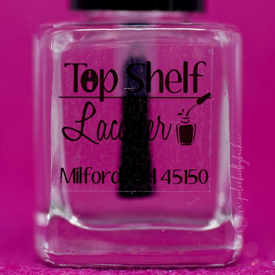 Ultra Smooth Top Coat (1 bottle) - Top Shelf Lacquer - 1